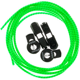 Swimrunners Swimrun Laces 2x100cm, neon green